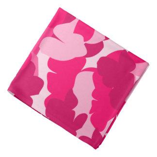 ピンクの迷彩柄、ピンクのカムフラージュ、カムフラージュ、ピンク迷彩柄 バンダナ