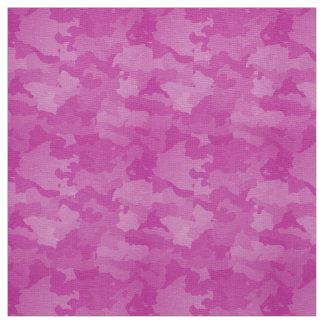 ピンクの迷彩柄 ファブリック