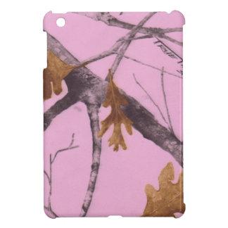 ピンクの迷彩柄 iPad MINIケース