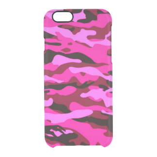 ピンクの迷彩柄iPhone6のディフレクターの箱BEALEADER クリアiPhone 6/6Sケース