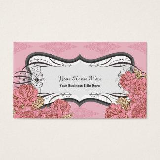 ピンクの追突によっては名刺が開花します 名刺
