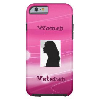 ピンクの退役軍人のIPhone6ケース ケース