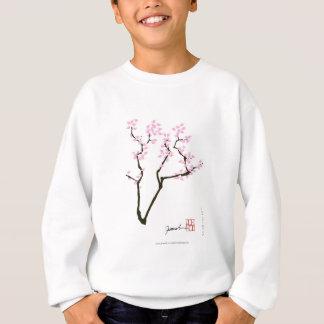 ピンクの金魚、贅沢なfernandesを持つ桜 スウェットシャツ