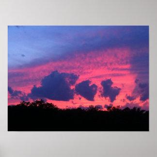 ピンクの雲 ポスター