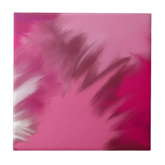 ピンクの霧深い煙 タイル