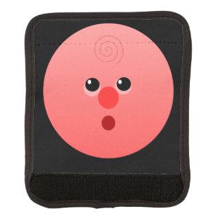 ピンクの顔のラゲージハンドルラップ スーツケース ハンドルカバー