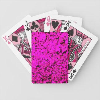 ピンクの風変り バイスクルトランプ