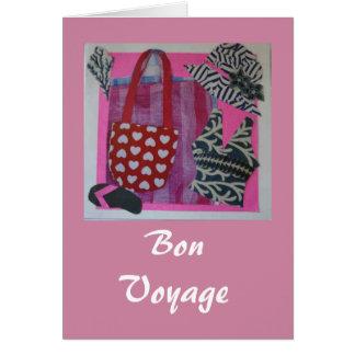 ピンクの餞別 カード