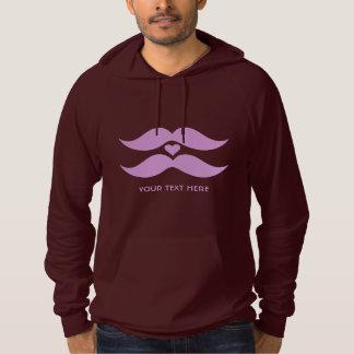 ピンクの髭のカスタムなワイシャツ及びジャケット パーカ