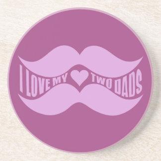 ピンクの髭のカスタムのコースター コースター