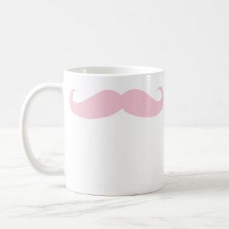 ピンクの髭のコーヒー飲料のマグ コーヒーマグカップ