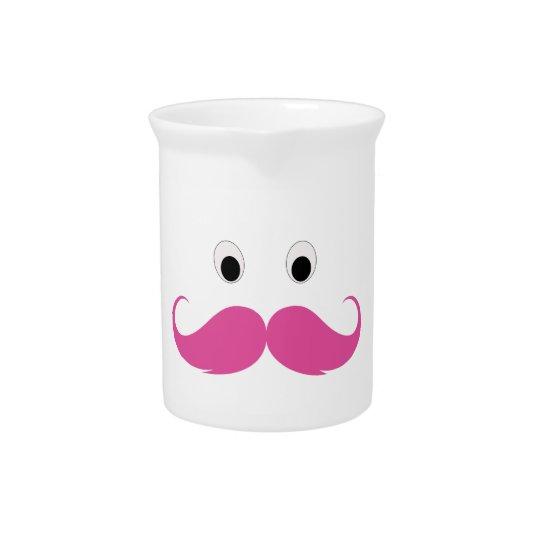 ピンクの髭はおもしろいです ピッチャー