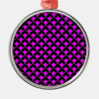 ピンクの黒いpattern.jpg メタルオーナメント