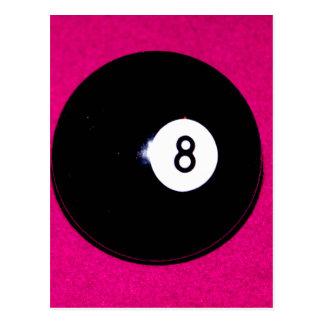 ピンクの8球 ポストカード