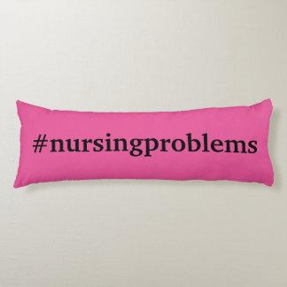 ピンクの#nursingproblems ボディピロー