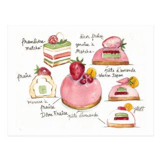 ピンクのBavoirois ポストカード