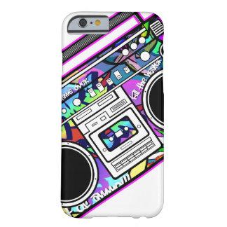 ピンクのBoombox Barely There iPhone 6 ケース