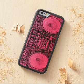 ピンクのboombox CarvedメープルiPhone 6バンパーケース