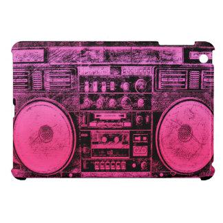 ピンクのboombox iPad miniケース