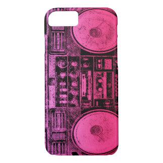 ピンクのboombox iPhone 8/7ケース