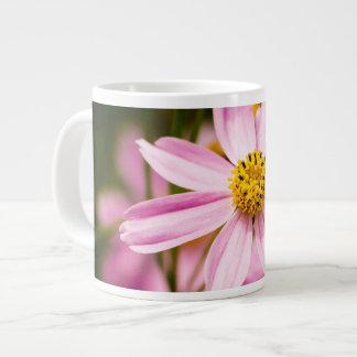ピンクのConeflower ジャンボコーヒーマグカップ