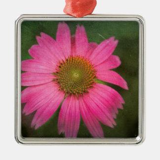ピンクのConeflower メタルオーナメント