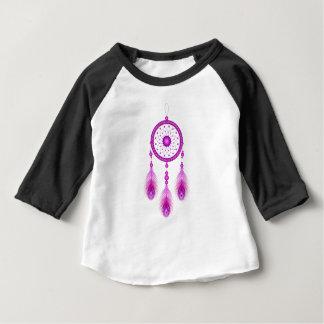 ピンクのDreamcatcher ベビーTシャツ