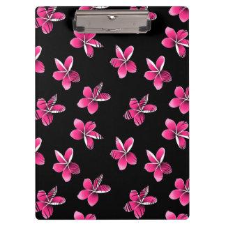 ピンクのfrangipani クリップボード