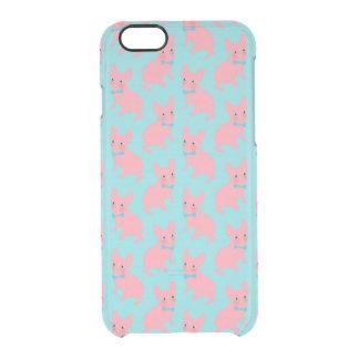 ピンクのFrenchie -何がありますか。 クリアiPhone 6/6Sケース