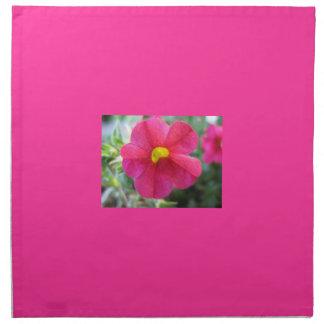 ピンクのFuchiaのテーブルナプキン ナプキンクロス