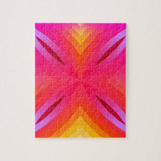 ピンクのgeo ジグソーパズル