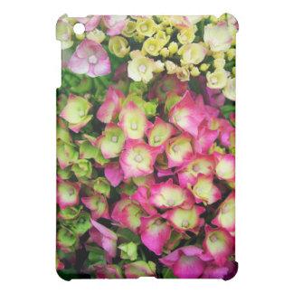 ピンクのHortensia iPad Miniケース