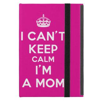 """ピンクのiPad Miniケース""""私が保つ私によってがお母さん""""がである平静を傾ける iPad Mini ケース"""