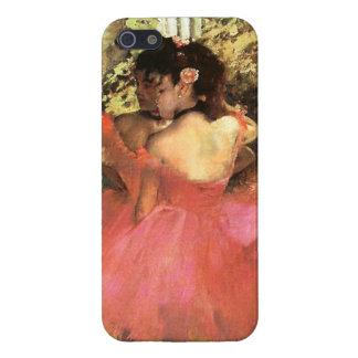 ピンクのiPhone 5の場合のダンサーのガスを抜いて下さい iPhone 5 Cover