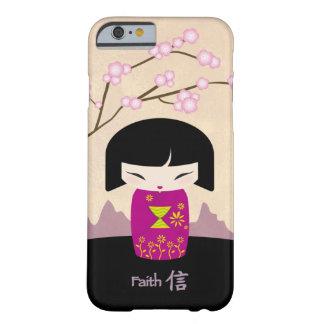 ピンクのkokeshi -信頼 barely there iPhone 6 ケース
