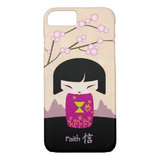 ピンクのkokeshi -信頼 iPhone 8/7ケース