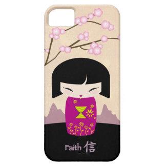ピンクのkokeshi -信頼 iPhone SE/5/5s ケース