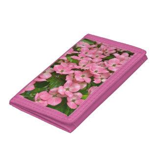 ピンクのkousaのミズキの花