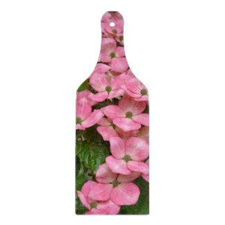 ピンクのkousaのミズキの花 カッティングボード