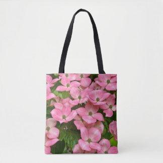 ピンクのkousaのミズキの花 トートバッグ