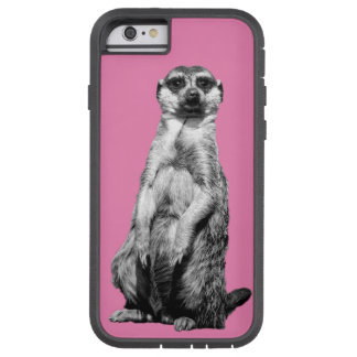 ピンクのMeerkat Tough Xtreme iPhone 6 ケース