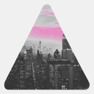 ピンクのny.jpg 三角形シール