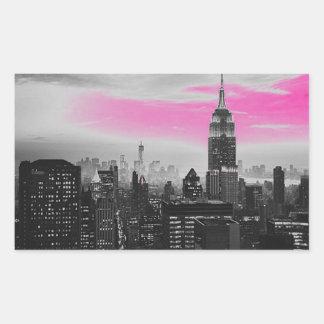 ピンクのny.jpg 長方形シール