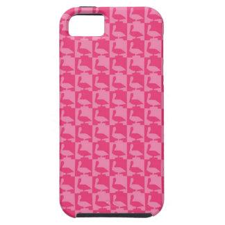 ピンクのpelicanes iPhone SE/5/5s ケース