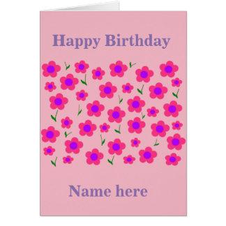 ピンクのPritty カード