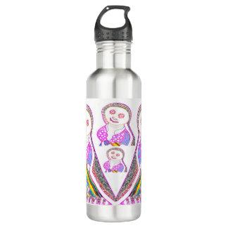ピンクのSABRINAの美女 ウォーターボトル