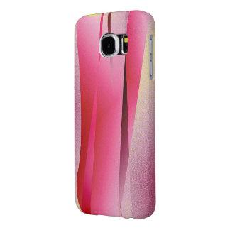 ピンクのSamsungの銀河系の箱 Samsung Galaxy S6 ケース