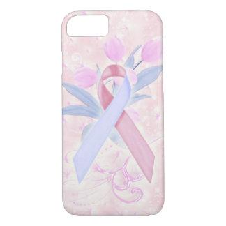 ピンクのSIDSの認識度またはサポート携帯電話の箱 iPhone 8/7ケース