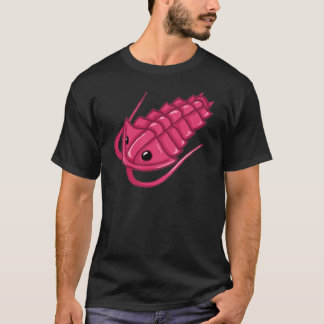 ピンクのTrilobite Tシャツ