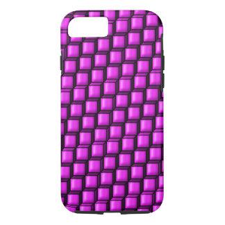 ピンクは堅いiPhone 7の場合を平方します iPhone 8/7ケース